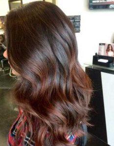 ألوان شعر شتاء 2021