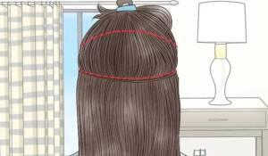 غمّقي شعركِ مع مسحوق الحناء