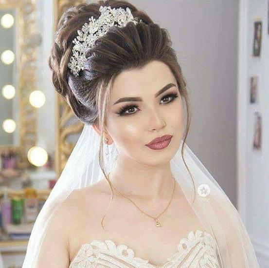 اجمل تسريحات 2020 للأعراس بصالونات جدة